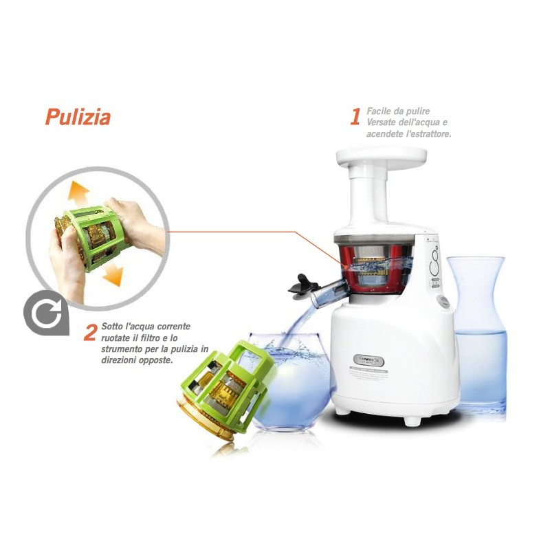 Estrattore Kuvings Whole Slow Juicer : Estrattore di succo Kuvings Whole Slow Juicer