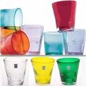 Bicchieri da acqua colorati Samoa Comtesse Grande