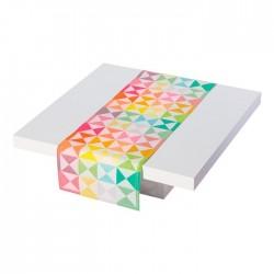 Runner Le Jaquard Francais Origami Multico 50 x 150 cm