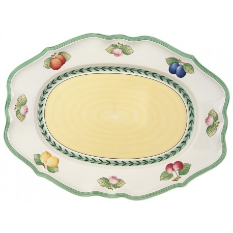 Piatto ovale Villeroy & Boch French garden in porcellana