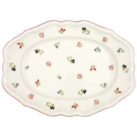 Piatto Villeroy & boch ovale in porcellana Petit Fleur