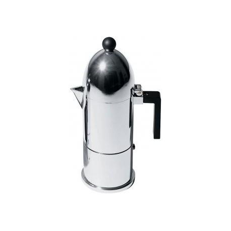 Caffettiera Alessi La cupola in alluminio 3 tazze