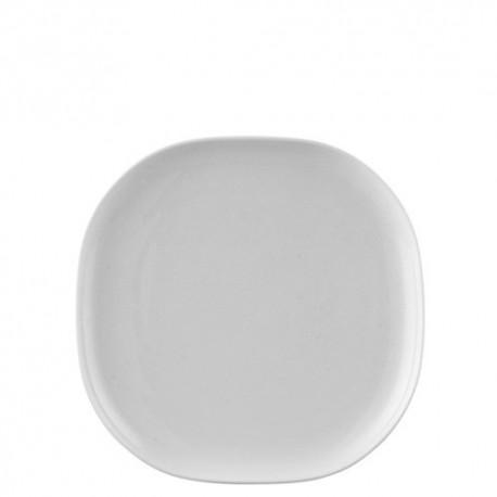 Piatto di portata Rosenthal moon bianco cm 24