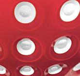 Rosso/bianco/trasparente